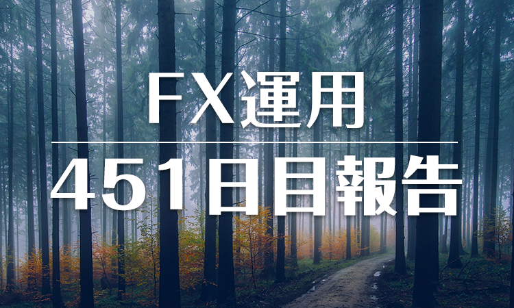FXスワップ運用451