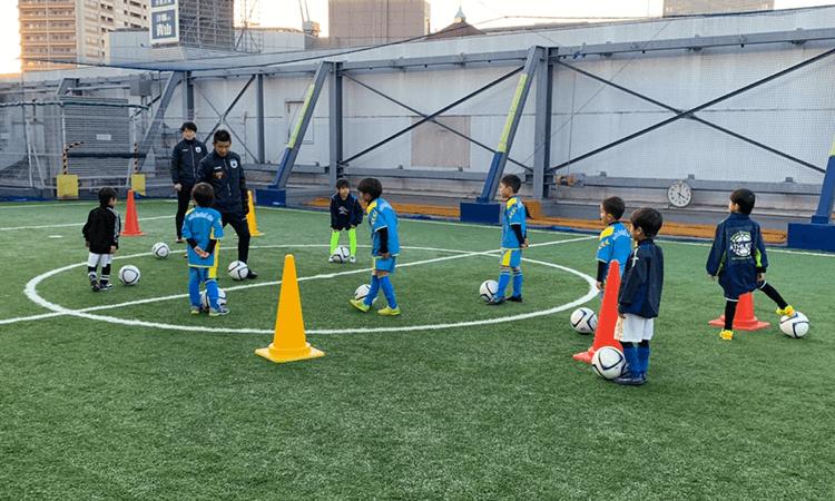 立川市サッカースクール_練習