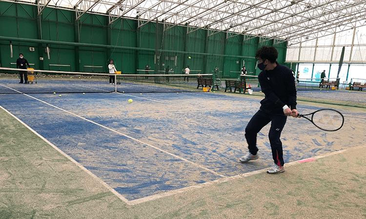 川越市テニススクール練習