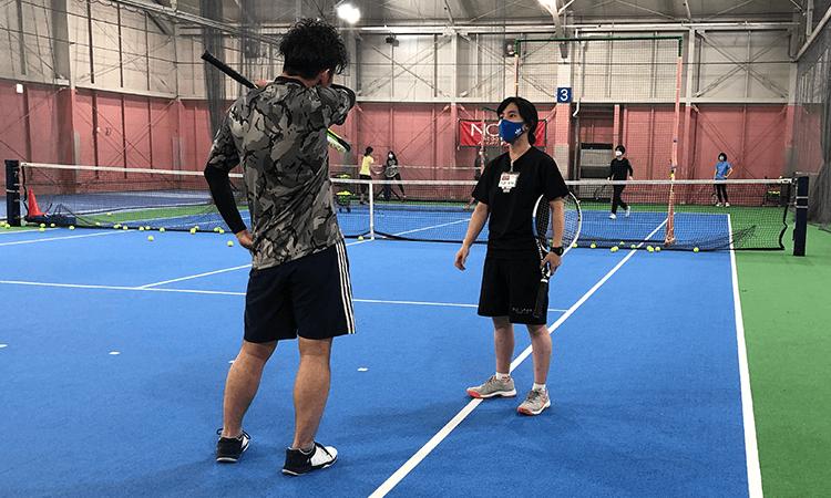 テニススクール・ノア和光成増校のプライベートレッスン