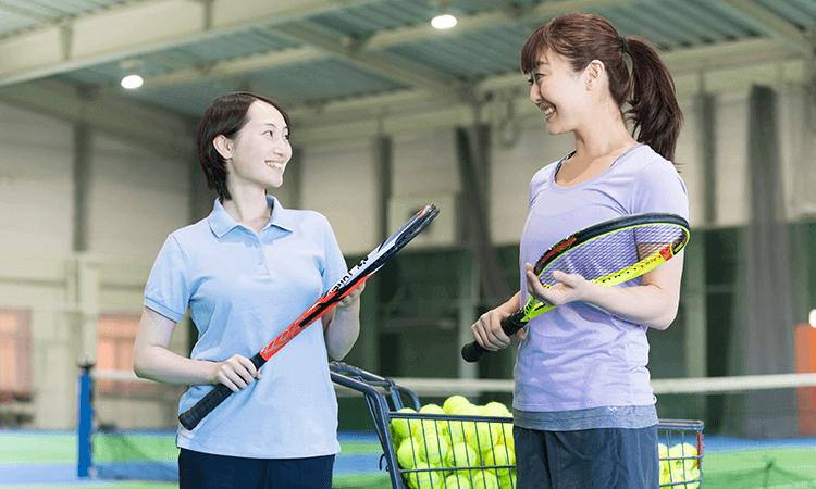 テニススクール・ノア国分寺校のプライベートレッスン