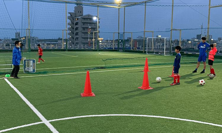 エボルテサッカースクールの無料体験レッスン