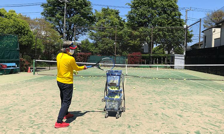 石井真テニスアカデミー中野校の無料体験レッスン