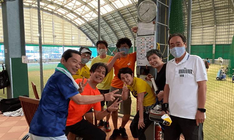 若久テニスクラブの特徴