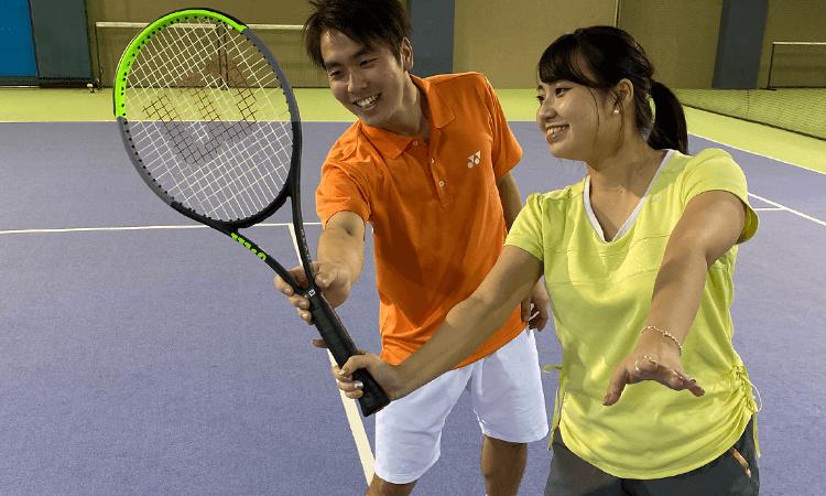 神奈中インドアテニススクール藤沢校のプライベートレッスン