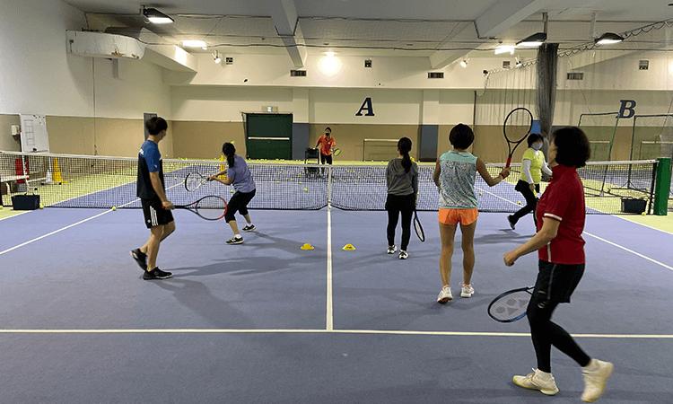 神奈中インドアテニススクール藤沢校の取材を終えて